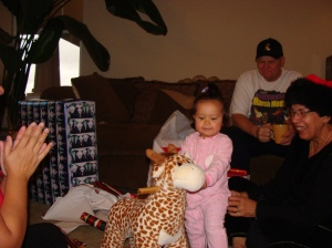 My New Rocking Giraff from Uncle Dub