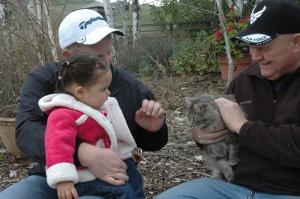 I got to pet the Meow!